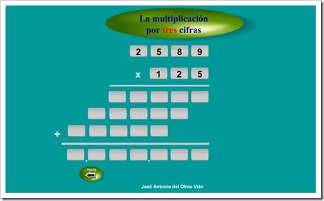 Multiplicaciones por tres cifras