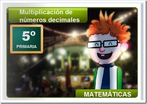 Multiplicación de deimales