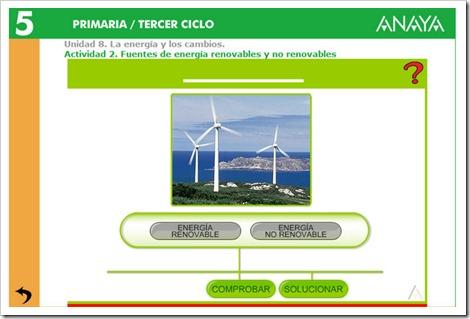 Fuentes renovables y no renovables