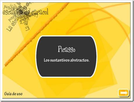 Picasso_Sustantivos abstractos