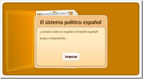 El sistema político español