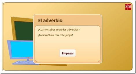 El_adverbio