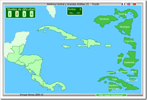 Países de América Central 3