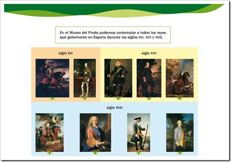Reyes siglos XVI, XVII, XVIII- Vídeo