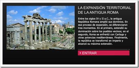 Expansión territorial de la Antigua Roma