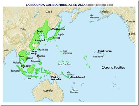 Segunda Guerra Mundial Asia